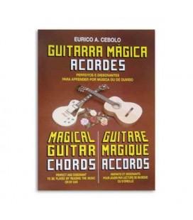 Portada del libro Guitarra M叩gica Acordes de Eurico Cebolo