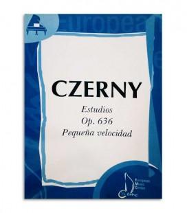 Libro Czerny Estudios de Pequeña Velocidad Opus 636 EMC341226