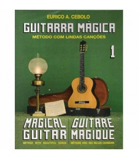 Livro Eurico Cebolo GTM 1 Método Guitarra Mágica No 1