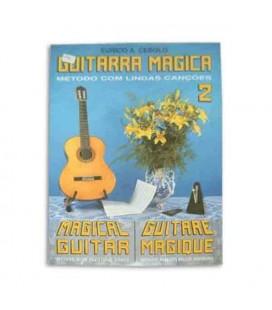 Livro Eurico Cebolo GTM 2 Método Guitarra Mágica No 2 com CD
