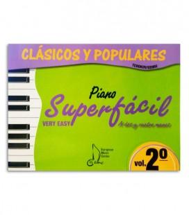 Libro Clásicos y Populares para Piano Super Fácil Vol 2 EMC341235