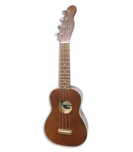 Ukelele Fender Soprano Venice Natural Walnut