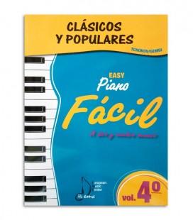 Clássicos e Populares para Piano Fácil Vol 4