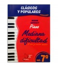 Livro Clássicos e Populares para Piano Dificuldade Média Vol 7 EMC341249