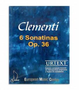 Libro Clementi 6 Sonatinas Op 36 EMC341255