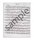 Página de amostra do livro Popper Estudos para Violoncelo OP 73 811
