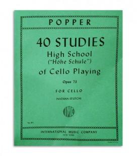 Libro Popper Estudios para Violonchelo OP 73 811
