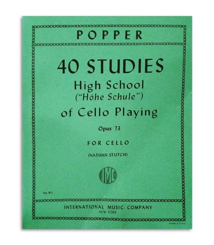 Capa del libro Popper Estudios para Violonchelo OP 73 811
