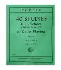 Livro Popper Estudos para Violoncelo OP 73 811