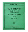 Cover of book Popper Studies for Cello OP 73 811
