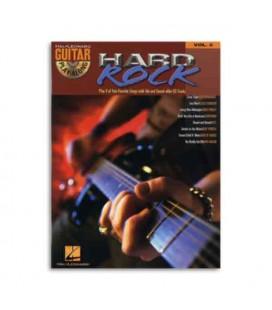 Libro Music Sales HL00699573 Guitar Play Along Hard Rock Volumen 3 Book CD