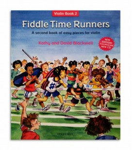 Libro Blackwell Fiddle Time Runners Book 2 con CD OXF32282