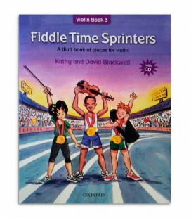 Libro Blackwell Fiddle Time Sprinters Book 3 con CD OXF32283