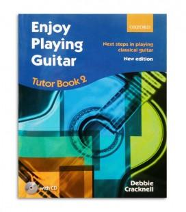 Libro Debbie Cracknell Enjoy Playing Guitar Book 2 con CD OXF1407