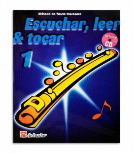 Libro Broers Kastelein Escuchar Ler y Tocar Flauta Vol 1 CD HASFL001