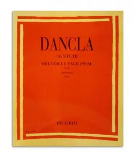 Livro Dancla 36 Estudos Melódicos e Fáceis para Violino Opus 84 ER1543
