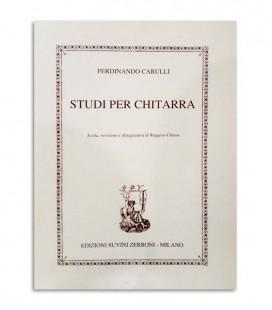 Book Carulli Studi per Chitarra ESZ6745