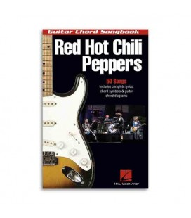 Livro Music Sales HL00699710 Red Hot Chili Peppers Guitar Chord Songbook