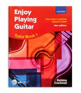 Libro Debbie Cracknell Enjoy Playing Guitar Book 1 con CD OXF61347