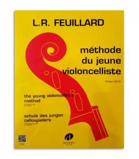 Libro Feuillard Méthode du Jeune Violoncelliste J3102