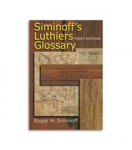 Livro Music Sales HL00332379 Siminoff Luthiers Glossary