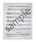 Sample page of book Suzuki Cello School Vol 2 EN MB42