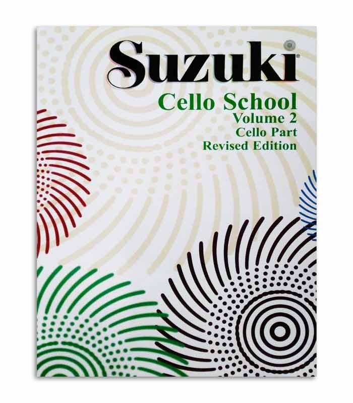Cover of book Suzuki Cello School Vol 2 EN MB42