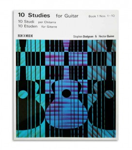 Book Dodgson Quine 10 Studies for Guitar Vol 1 LD554