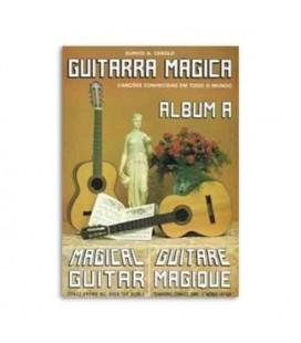 Eurico Cebolo Book Metodo Guitarra Mágica Álbum A with CD GTM Alb A