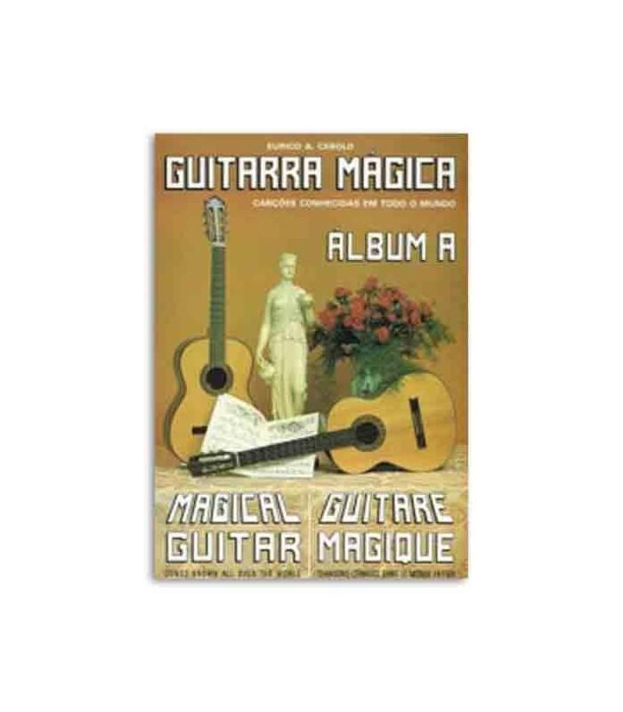Eurico Cebolo Book Metodo Guitarra M叩gica �lbum A with CD GTM Alb A