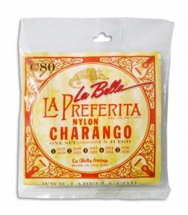 String Set LaBella C80 for Charango