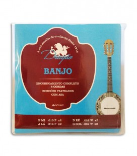String Set Dragão 035 for banjo 8 Strings