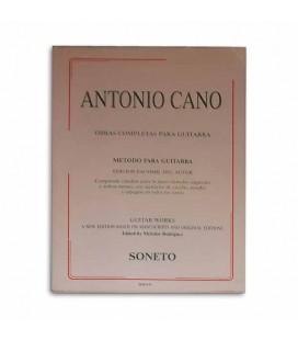 Livro Soneto 0119 Antonio Cano Método Para Guitarra