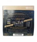 foto traseira da embalagem do jogo de cordas D'Addario EJ48