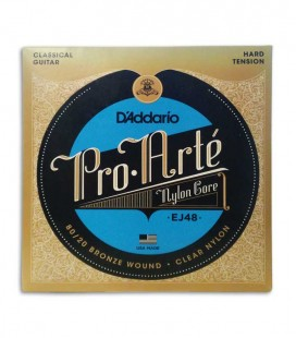 String Set DAddario EJ48 for Classical Guitar Heavy Tension