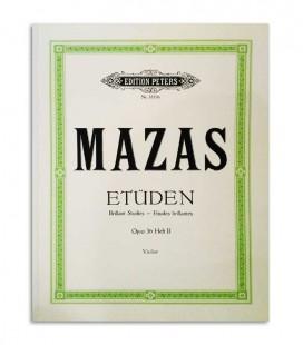 Libro Peters Mazas para Violin Opus 36