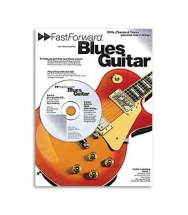 Libro Music Sales AM951160 Fast Forward Blues Guitar