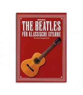 Livro Music Sales BOE4467 Beatles for Classic Guitar 10 músicas