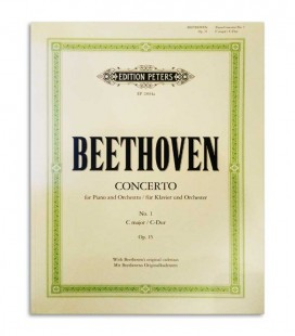 Book Peters Beethoven Concerto N 1 Opus 15 EP2894A