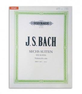 Libro Peters Bach 6 Suites para Violonchelo BWV 1007 1012 EP9054