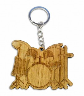 Portwood Key Chain PC026 Drum Set
