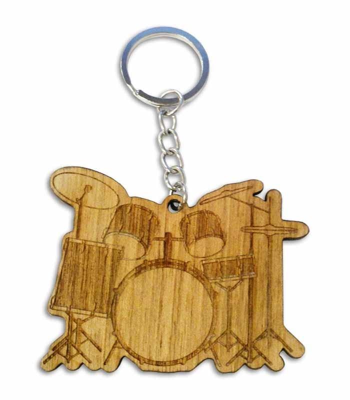 Portwood Key Chain PC026 Drum Set