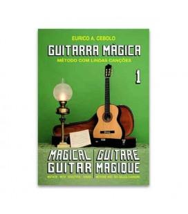 Livro Eurico Cebolo GTM1 Método Guitarra Mágica No 1 com CD