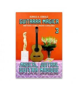 Livro Eurico Cebolo GTM 3 Método Guitarra Mágica No 3