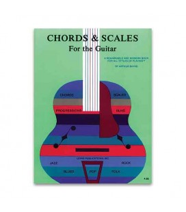 Livro Music Sales AS10446 Chords and Scales for the Guitar
