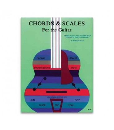 Libro Music Sales AS10446 Chords and Scales for the Guitar
