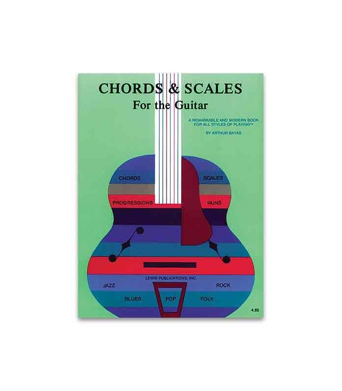 Music Sales Book Chords and Scales for the Guitar AS10446 - Salão ...