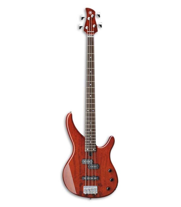 Guitarra Baixo Yamaha TRBX174 EW RB 4 Root Beer