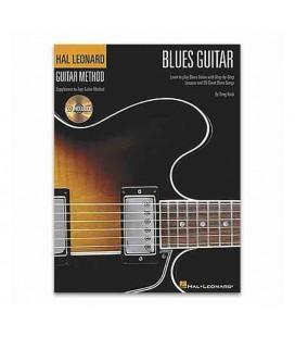 Livro Music Sales HL00697326 Guitar Method Blues Guitar