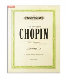 Livro Peters Chopin Impromptus EP71906